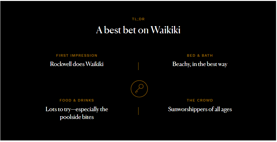 A Best Bet on Waikiki from Conde Nast