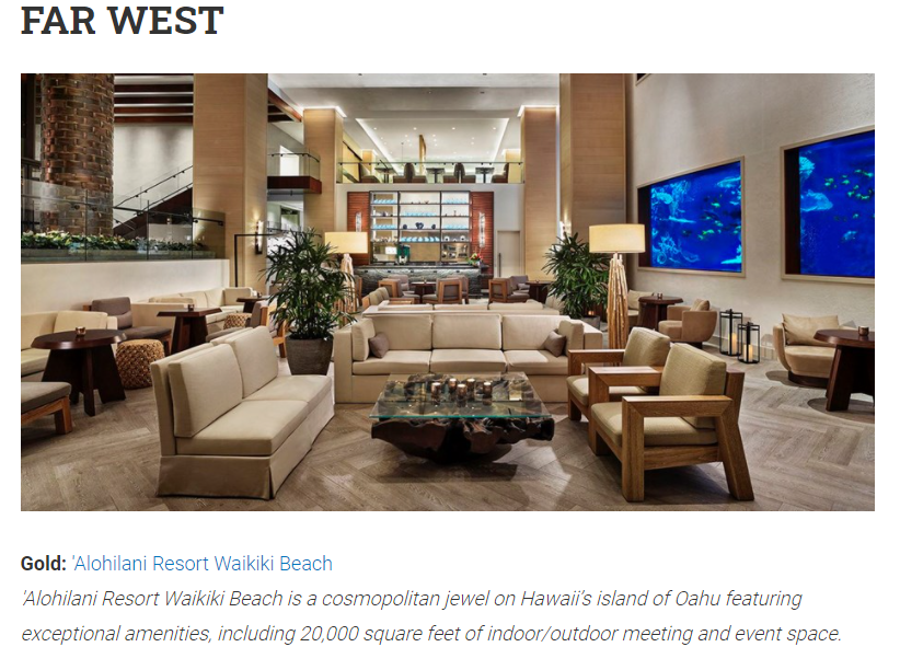 Best Hotel/Resort Far West Gold: 'Alohilani Resort Waikiki Beach