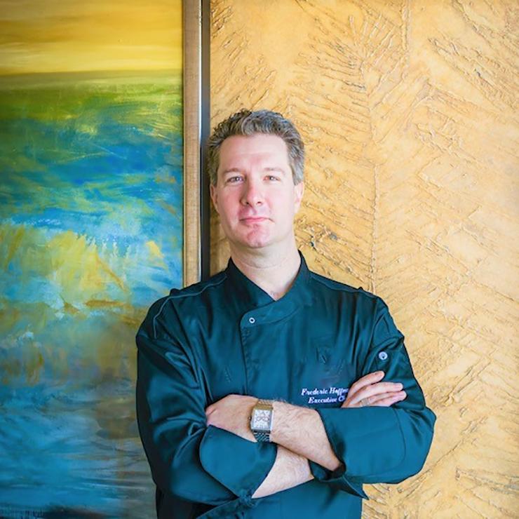 Headshot of 'Alohilani Resort Executive Chef Frederic Hoffman